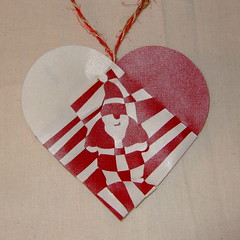 Father Christmas Heart