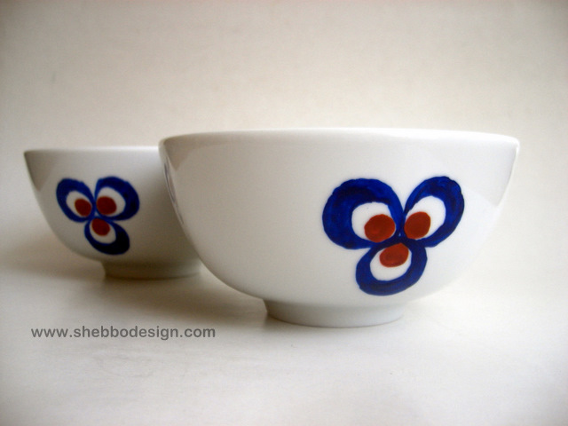Cintemani Motif Bowl Set