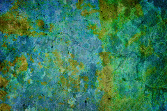 Stained Concrete Texture (ImageAbstraction) Tags: old blue abstract texture wall concrete grey pattern floor antique decay background grunge dirty retro stained canvas faded burnt worn
