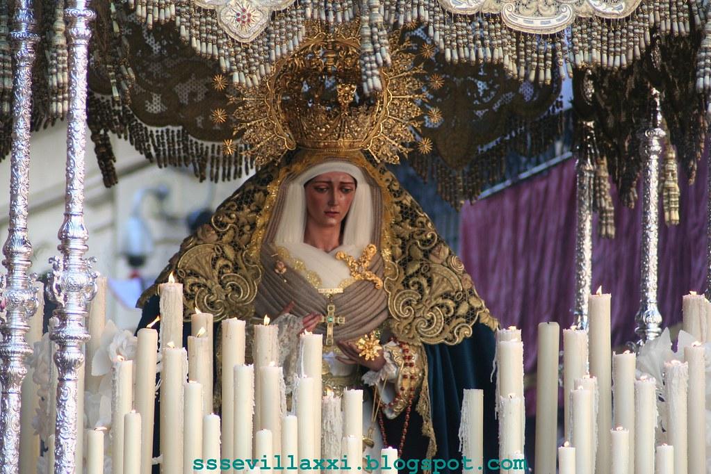 Nuestra Señora de la Consolación, Madre de la Iglesia. Miércoles Santo 2009