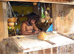 Rasta Craftsman (LifeLover4) Tags: portrait dreadlocks hair island paradise crafts indian roots culture carve trinidad tropical locks caribbean tt carver carib dreads ras rasta windward tobago westindian drill bethel trinidadtobago rastafarian caribe craftsmen westindies trinidadandtobago casava mywinners nationalgeographicfacesoftheworld tobagonian 11degreesnorth lifelover4 stickneydesign