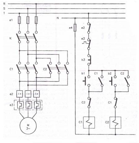 Schema de pornire directă  a motoarelor asincrone trifazate cu rotorul În  scurtcircuit
