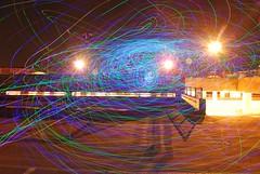 Instant Party (artwork_rebel) Tags: longexposure pink blue lightpainting colour green purple led torch slowshutter flashlight lighttrails essex chelmsford lightart lightdrawing lightgraffitilightgraffiti robwalkerphotography robwalkerphotographer