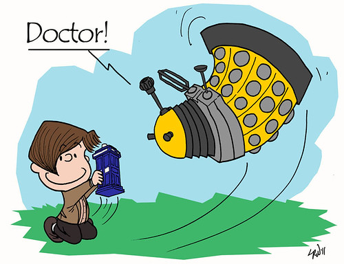 11th Doctor vs a Dalek