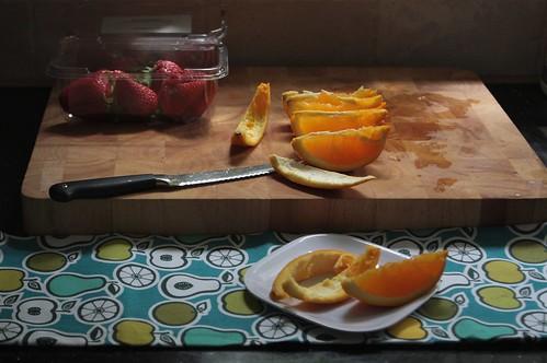 oranges & strawberries