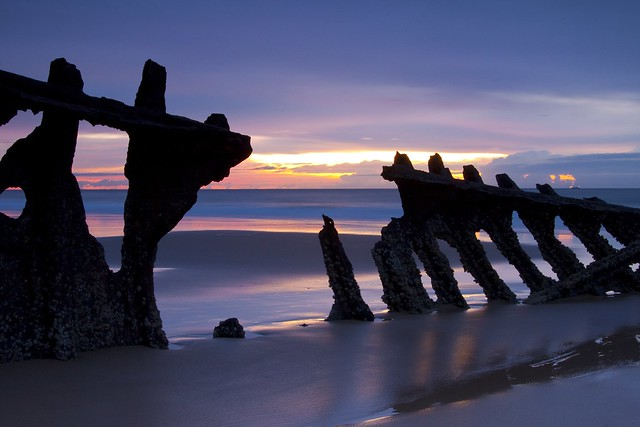 Sunrise wreck