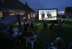 Outdoor Home Movie Theater Sales & Rental Buffalo, Western New York (Artisan Kitchens and Baths) Tags: home movie backyard theater outdoor rental screen inflatable sales