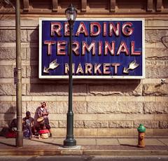 Reading Terminal Market Players (Darren LoPrinzi) Tags: 5d canon5d philadelphia philly street streetphotography urban canon city readingterminalmarket musicians streetmusicians sign signage neon neonsigns firehydrant lightpole