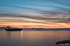 Sunset  Light (NIKOZAR (Nicola Zaratta)) Tags: nikon nikond750 mare taranto puglia maredinverno firstshot nikon50mm14g italia lungomare nave boats sunset bluehour orablu