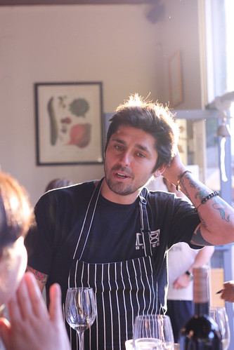 Another shot of Chef Ludo