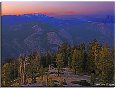 Yosemite Sunset (iCamPix.Net) Tags: california sunset mountains landscape tourists explore sierranevada professionalphotographer yosemitevalley tuolumnemeadows sentineldome mariposacounty 8729 canoneos1dsmarkiii mostwatched majorattraction