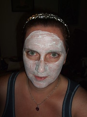 I'm hoping this mask will get rid of the skin peeling off of my face.