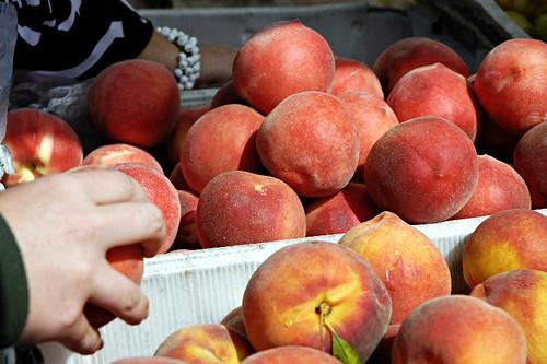 Local Organic Peaches