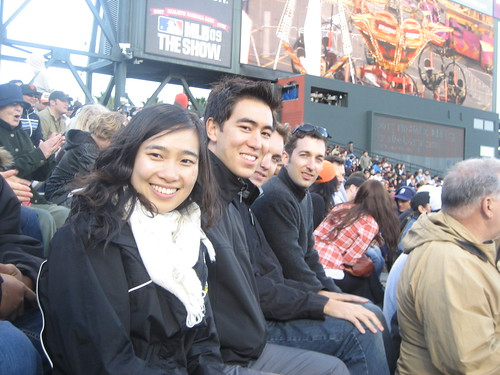 Qiyun, Boni, Adama and Christiaan at the Giant's Game