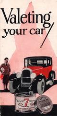 """Valeting your car!"" - leaflet by Nobel Chemical Finishes Ltd, c1925 (mikeyashworth) Tags: belco nobelindustries nobel nobelchemicalfinishes slough stowmarket ici imperialchemicalindustries carpolish 1920s mikeashworthcollection"