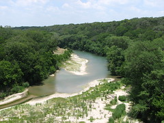 The Guadalupe River from Spring Branch Rd.