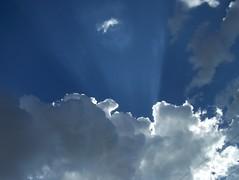 100_6545 (Matt Hays) Tags: blue arizona sky cloud white rio clouds gray az rico sunrays effect sunray flage riorico rioricoaz arizonaflageffect