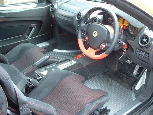 Ferrari F430 Scuderia Interior. Ferrari F430 Scuderia Interior