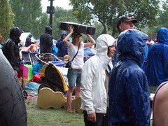 Rain at RockyGrass 2009