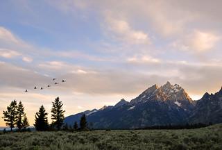 Teton Range, Sunset, #33