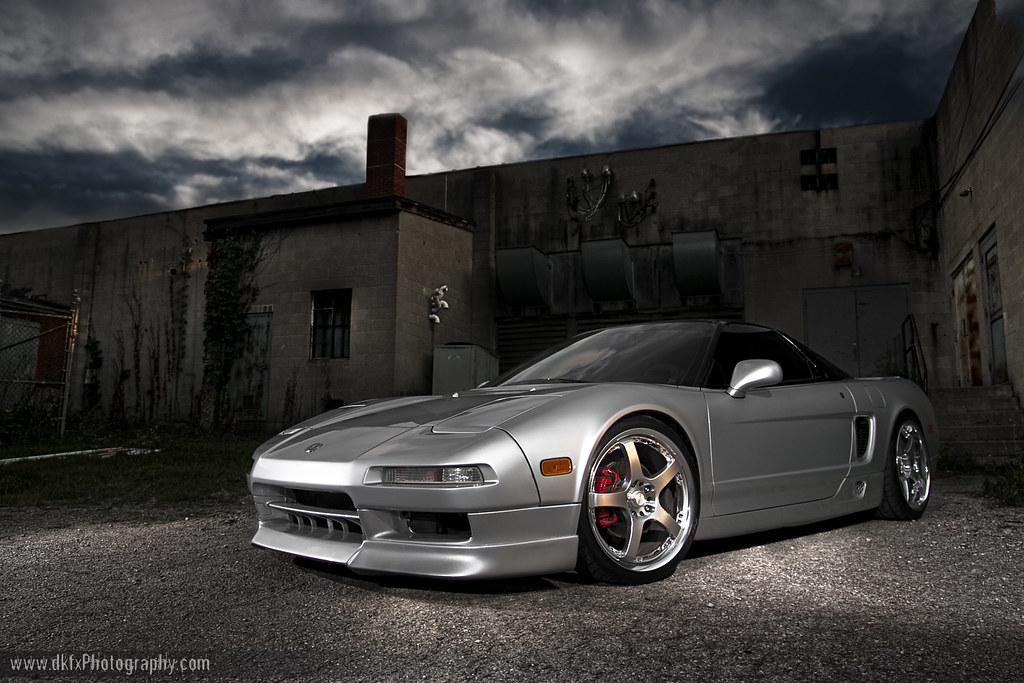 The Silver Assassin : Brians supercharged nsx
