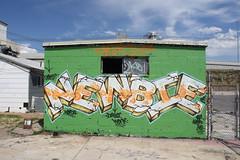Newbie (City of Shame.) Tags: city graffiti utah saltlake newbie af ug newb wbk
