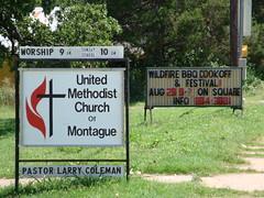 signs in Montague, Texas (CP Shelton) Tags: texas montague montaguecounty