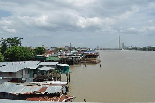 Chao Phraya river front