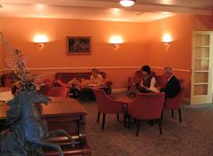 Салон в лобби гостиницы Норфолк, остров Джерси