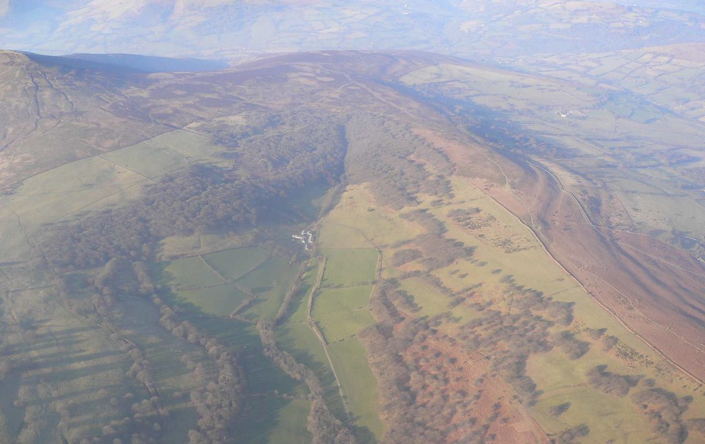 Remote Farm in The Brecon Beacons National Park
