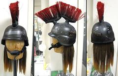 Roller, helmet detail