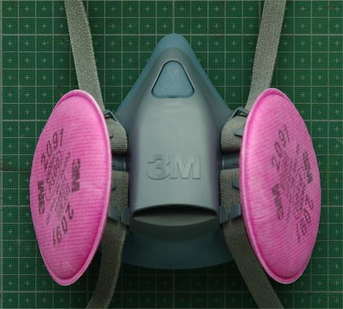 3M 7500 reusable respirator mask