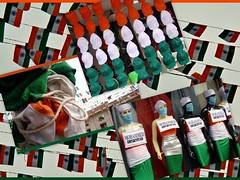 IIDC - India Independance Day Collage (SuReSh, the Traveler ?) Tags: india flag caps hyderabad suresh hpc indianflag h9 sonyh9