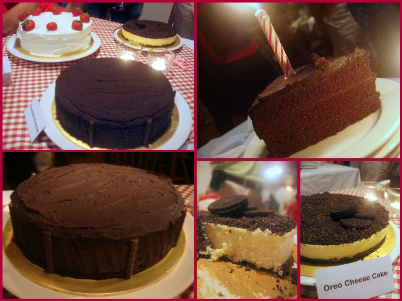 Orea Cheese and Choc Cake