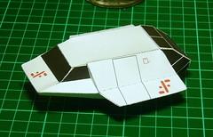 V - SKYFIGHTER (mistermanolo) Tags: v papel visitors papercraft labatallafinal