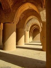 Tarikhane mosque (Moein Mn) Tags: persian iran persia mosque iranian semnan  moein   damghan   damqan  moeinmohammadnejad  tarikhane  tarikhanemosque