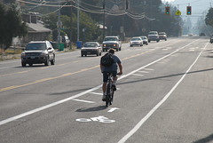 Buffered bike lanes on SE Holgate-7