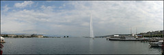 pano_Genf_2009_08_0003_2 (_SG_) Tags: panorama lake water fountain canon schweiz switzerland see wasser suisse stitch geneva pano jet panoramic waterfountain genve stitched deau jetdeau photostitch lakegeneva genf waterjet genfersee canonef28135mmf3556isusm 400d canon400d jetdeauwaterfountain