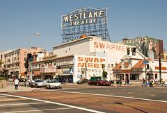Wilshire at Alvarado (Viajante) Tags: california building sign losangeles afternoon unitedstates westlake losangelescounty westlaketheatre wilshireboulevard nikond80 nikon18135mm3556