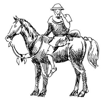 horse-soldier