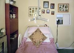 Eileen (kell_2611) Tags: people bedroom community room documentary pillow elderly reallife hoist photoframes hospitalbed caringfortheelderly 5x4film wistacamera