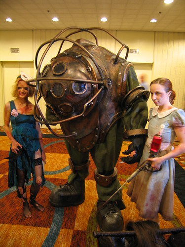 bioshock game character as costume