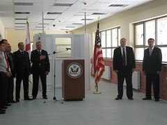 USACE completes construction on Kazbegi Border Crossing  in Georgia (USACE Europe District) Tags: georgia construction ceremony ribboncutting usarmy kazbegi usace borderpolice usambassador republicofgeorgia corpsofengineers europedistrict bordercrossingstation