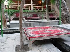 Teahouse at the Fin Garden (Marcel Ha) Tags: iran kashan fingarden