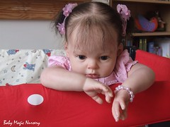 Reborn Toddler baby - Kitty, Arianna kit by Reva Schick (bedaliri) Tags: baby set toddler dolls heat genesis arianna paints reborn reva schick muecapreciosa