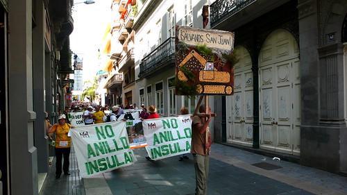 44 Manifestación 26 septiembre Anillo Insular