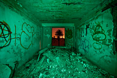 Saturday Night Live (Thomas Hawk) Tags: california usa lightpainting green abandoned night america graffiti hotel unitedstates fav50 10 unitedstatesofamerica save3 save7 save8 save save2 fav20 save9 save4 eastbay save5 save10 save6 byron fav30 savedbythedeletemeuncensoredgroup fav10 contracostacounty byronhotsprings fav25 fav100 fav40 fav60 fav90 fav80 fav70 superfave dmumeetup dmumeetup092609 dmumeetup09262009 gettyartistpicksoct09
