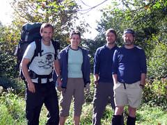 John, me, Bobby and Grady