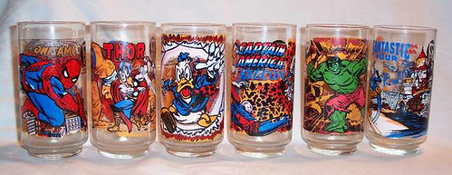 Marvel 7-11 Glasses
