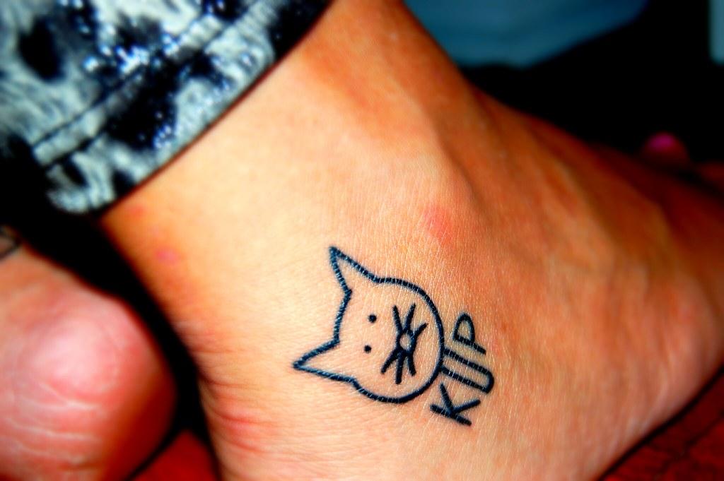 Katy Perry Tattoo.
